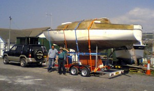 Post image for Yacht Trailer for Hire 3500kg Capacity